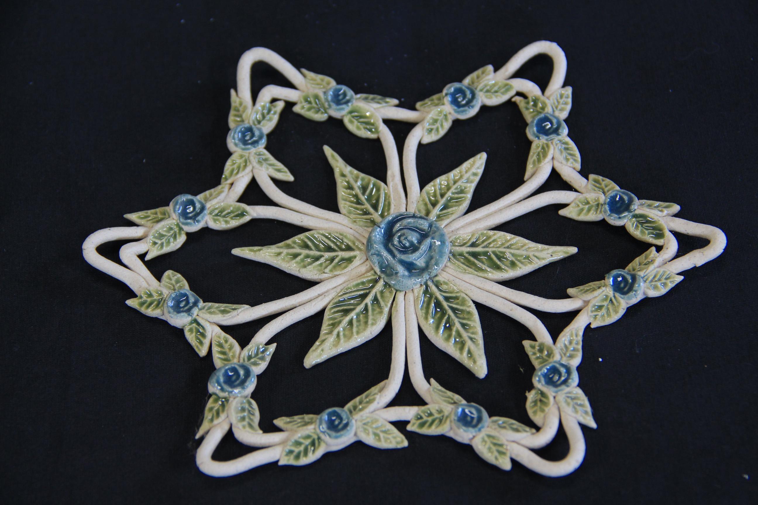 Mandala em Paper Clay