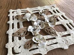 mandala em paperclay