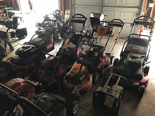 WALK MOWERS STARTING AT $100