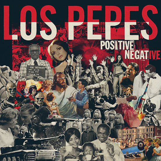 Los Pepes - Positive Negative LP album