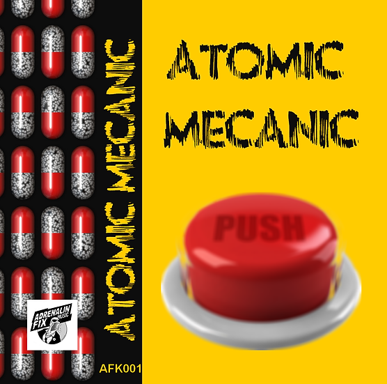 ATOMIC MECANIC demo cassette limited edition
