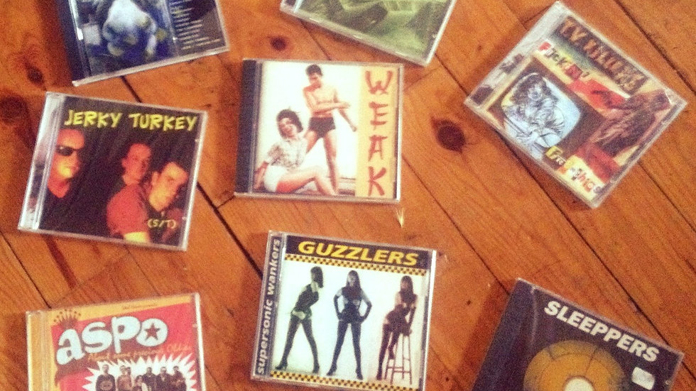 90's TOTAL HEAVEN RDS PACK Originals CD copies