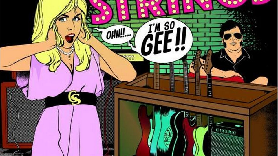 """THE GEE STRINGS """"I Am So Gee !!"""""""