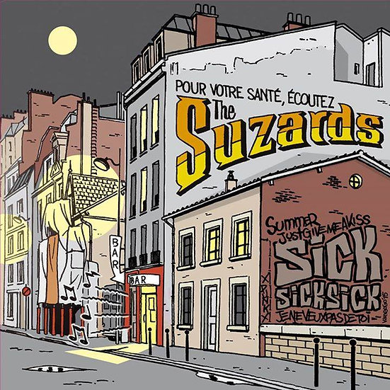 "THE SUZARDS ""S/T"""