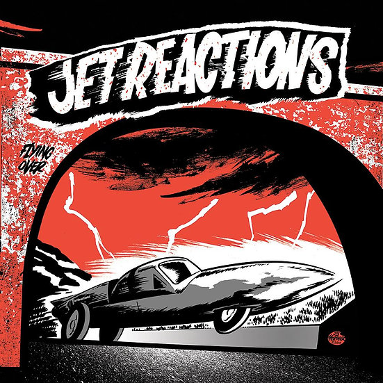 """JET REACTIONS """"S/T"""" 7inch (45T)"""