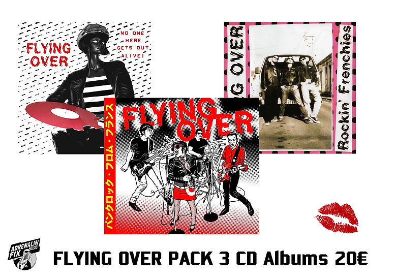 FLYING OVER PACK PROMO:      3 Albums CD !!!