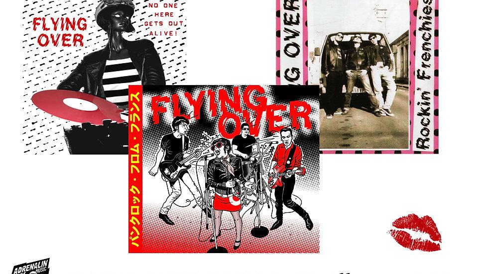 FLYING OVER PACK PROMO:      3 Albums CD !!!