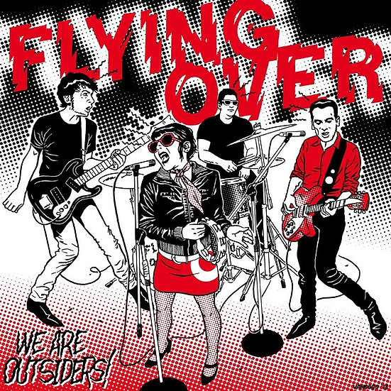 FLYING OVER Limited Edition Silkscreened cover