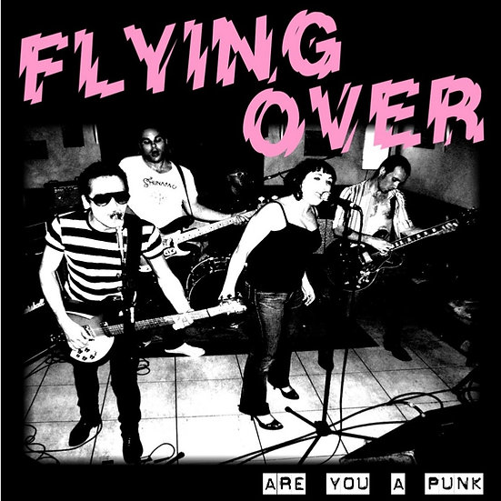 "FLYING OVER ""Are You A Punk"" 7"" 45T Vinyl (2009)"