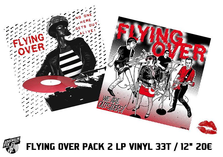 """FLYING OVER PACK PROMO: 2 LP 12"""" / 33T Vinyl !!!"""
