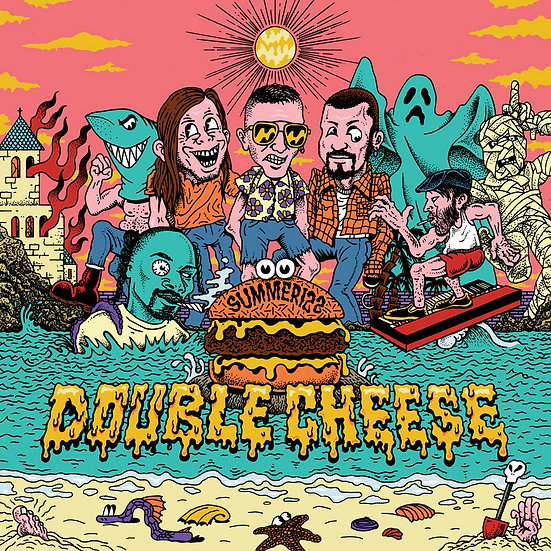 "DOUBLE CHEESE ""Summeriz"" LP"