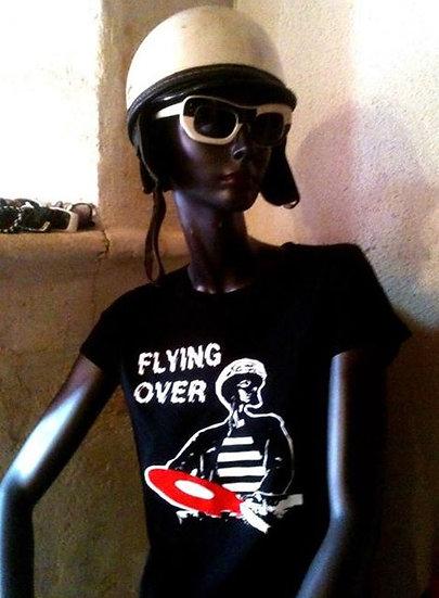 """FLYING OVER T.Shirt """"Black"""" (2013)"""