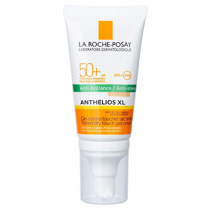 Anthelios XL Toque Seco Protector Solar Antibrillo c/color SPF50+ 50 ml