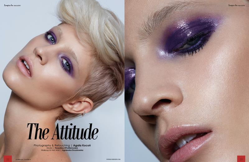 Editorial hair and make up