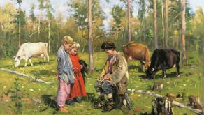 Об обучении детей в народной культуре