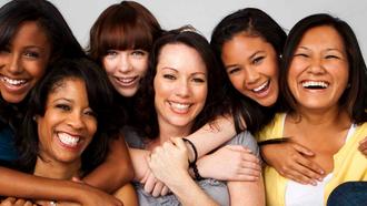 As mulheres são todas diferentes, mas tem algo em comum. O que será?