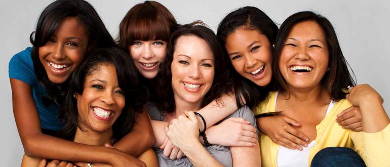 mulheres são diferentes mas todos tem algo em comum amor
