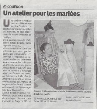 Un article paru dans Presse Océan