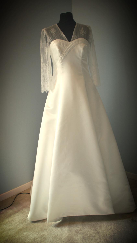 Robe de mariée d'Amélie mariée 2016 Nantes