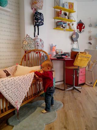 Visite du magasin Minus Concept Store à Savenay