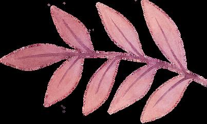 Ramita con hojas
