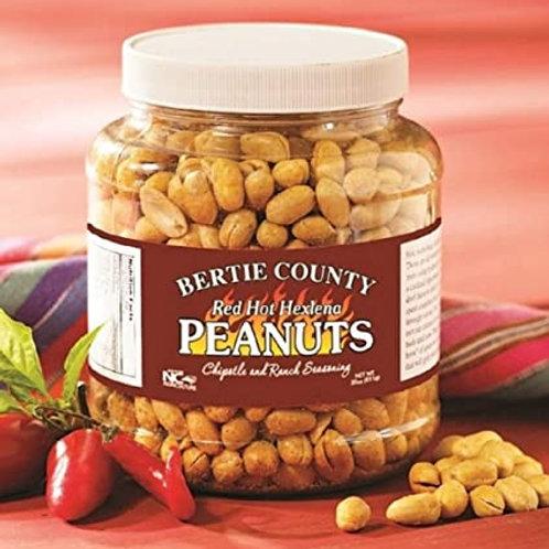 Bertie County Peanuts Red Hot Hexlena