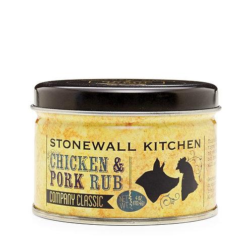 Stonewall Kitchen Chicken and Pork Rub- 4oz
