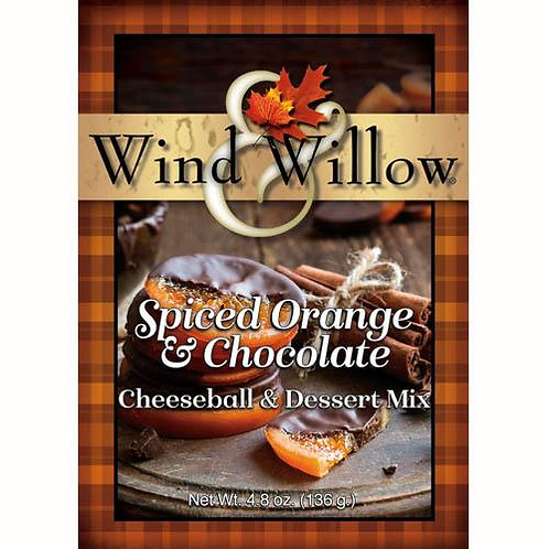 Wind & Willow Spiced Orange & Chocolate Cheeseball Mix