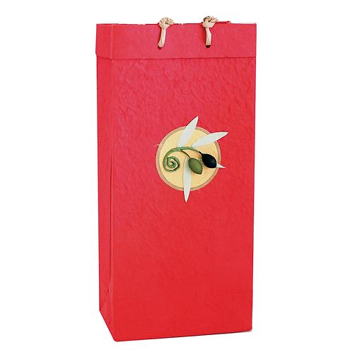 Bella Vita OB2  Castilla Red Double Bag