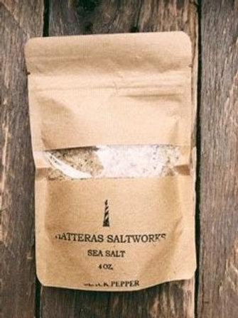 Hatteras Saltworks Black Pepper Sea Salt