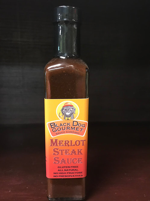 Black Dog Merlot Steak Sauce