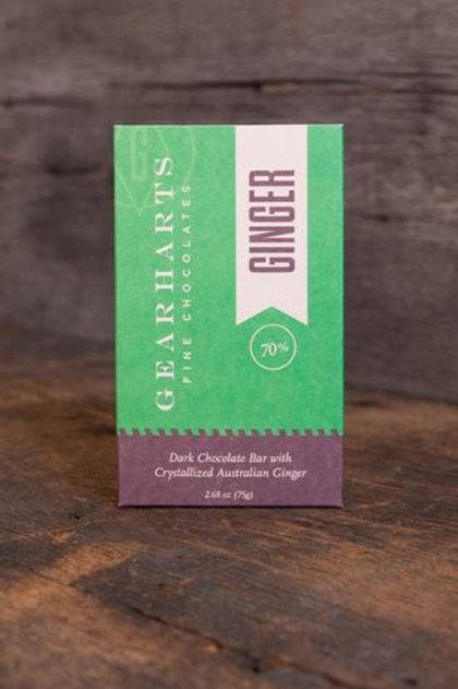 Gearharts Chocolate Ginger Bar