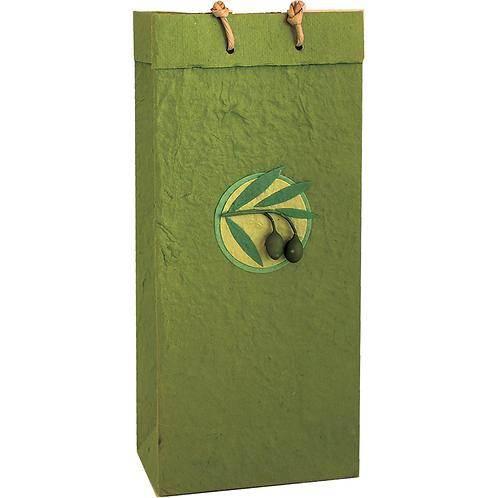 Bella Vita BV2 Castilla Olive Double Bag