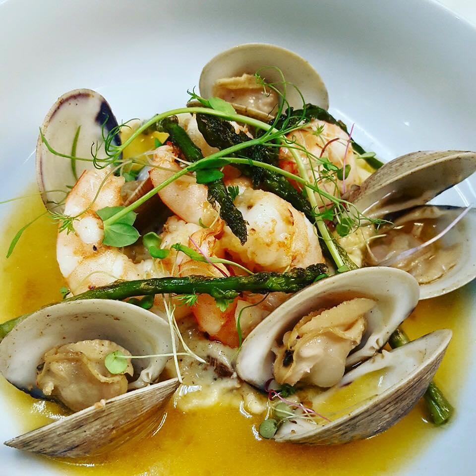 shrimp and clams