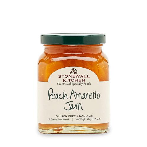 Stonewall Kitchen Peach Amaretto Jam, 12.25oz