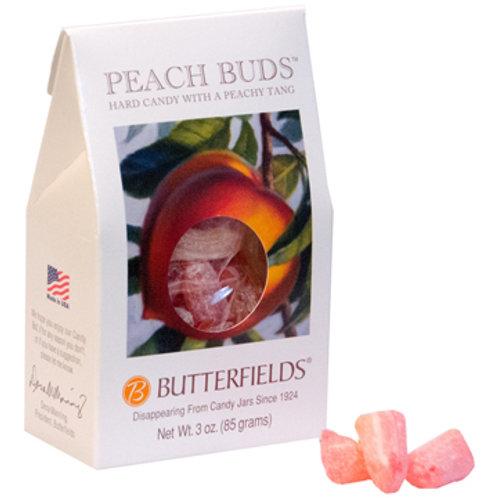 Butterfields Hard Candy-Peach Buds 3oz