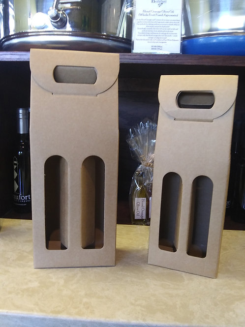 Tan Double Bottle Carriers