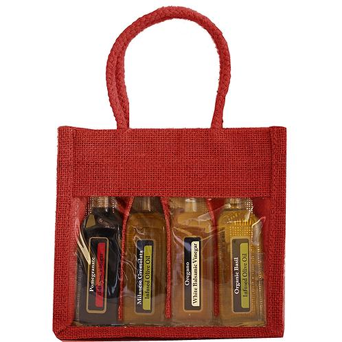 Bella Vita Red 4  pack sampler bag