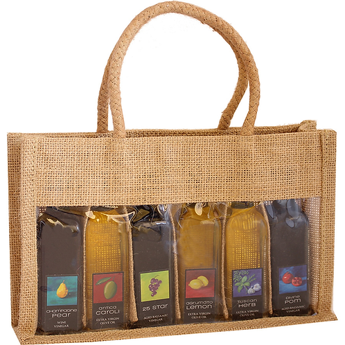 Bella Vita 6 pack sampler bag- Natural