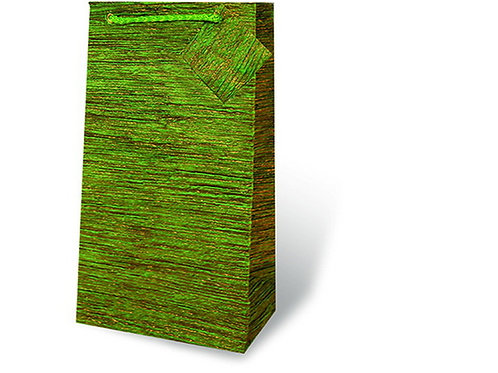 Handmade  Sparkly Green Double Bag