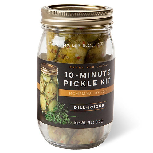 Pearl & Johnny 10 Minute Pickle Kit- Dill-licious