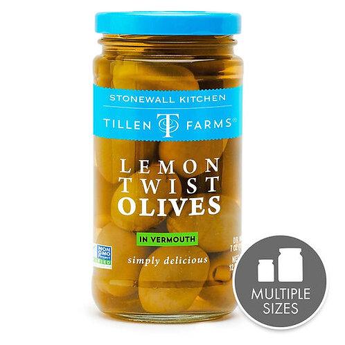 Stonewall Kitchen Tillen Farms Lemon Twist Olives