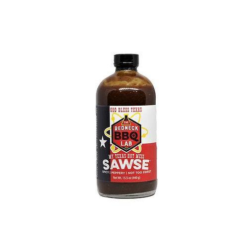 Redneck BBQ Lab- My Texas Hot Mess Sawse