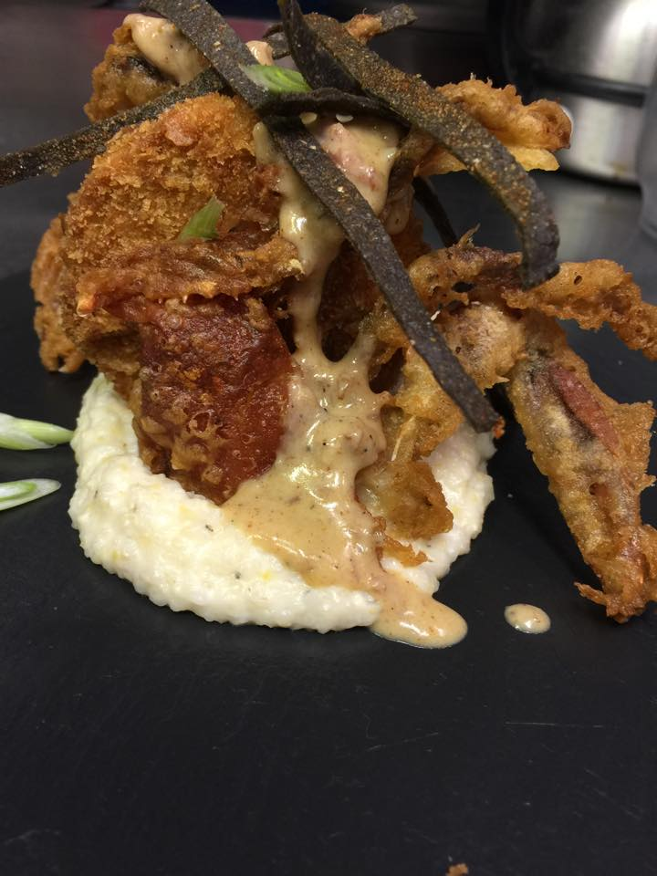 tempura fried softshell