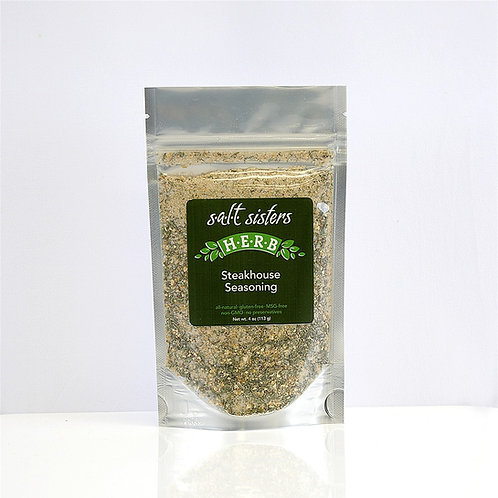 Salt Sisters Steakhouse Seasoning Blend