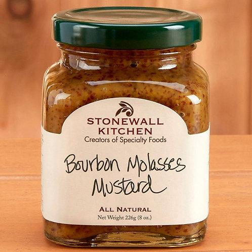 Stonewall Kitchen Bourbon Molasses Mustard, 8oz