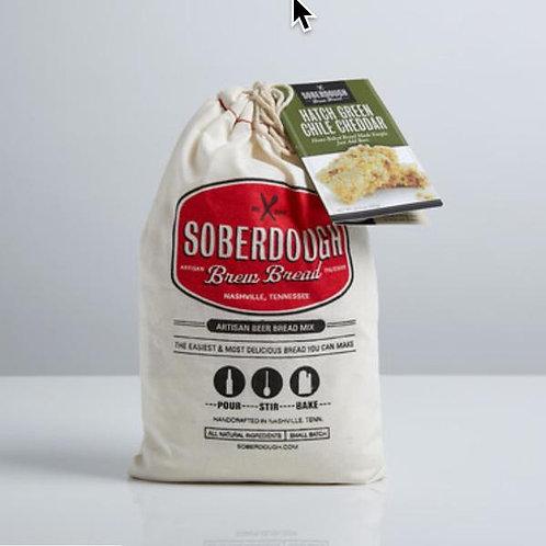 Soberdough Hatch Green Chile Cheddar Bread Mix