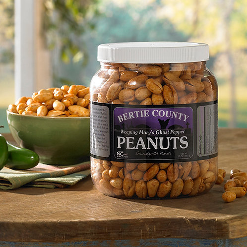 Weeping Mary's Ghost Pepper Peanuts