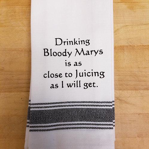 """Bloody Mary..."" Tea Towel"