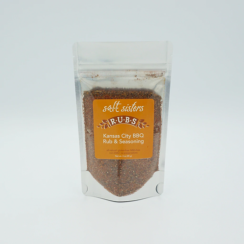 Salt Sisters Kansas City BBQ Rub & Seasoning